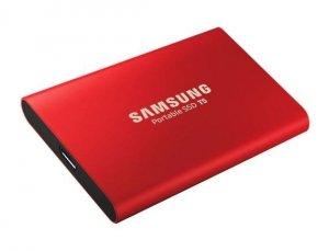 Samsung Portable SSD T5 1000 GB, USB 3.1 Gen 2, Red
