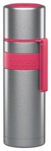 Boddels HEET Vacuum flask with cup Raspberry red, Capacity 0.5 L, Diameter 7.2 cm, Bisphenol A (BPA) free