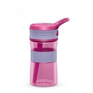 Boddels EEN Drinking bottle Bottle, Lavender blue/Pink, Capacity 0.4 L, Diameter 7.5 cm, Bisphenol A (BPA) free