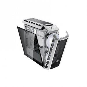 Cooler Master MasterCase H500P Mesh White, ATX, Mini ITX, Micro ATX, E-ATX, Power supply included No