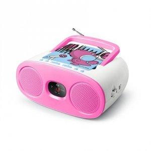 Muse Portable Radio M-20 KDG CD player, AUX in, FM radio