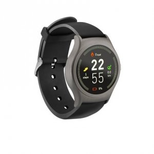 Acme Smart Watch SW201 Steps and distance monitoring, Aluminium alloy, IPS, Touchscreen, Bluetooth, Heart rate monitor, Space Gr