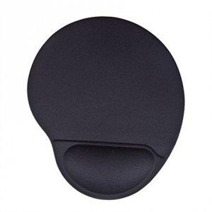 Acme Ergonomic mouse pad Black, 220 x 250 x 25 mm