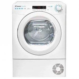 Candy Dryer Machine CSO H7A2TE-S Energy efficiency class A++, Front loading, 7 kg, Heat pump, Big Digit, Depth 60 cm, Wi-Fi, Whi