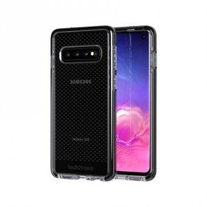 TASSO Tech21 Evo Check T21-6918 Case, Samsung, Galaxy S10, Smokey Black