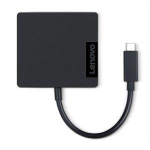 Lenovo Travel Hub Adapter, USB-C