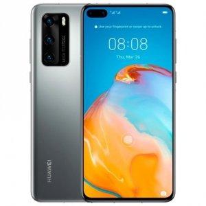 Huawei P40 Silver Frost, 6.1 , OLED LCD, 1080 x 2340 pixels, Octa-core, Internal RAM 8 GB, 128 GB, NM SD, Dual SIM, Nano-SIM, 3