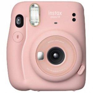 Fujifilm Instax Mini 11 Camera Focus 0.3 m - ∞, Blush Pink