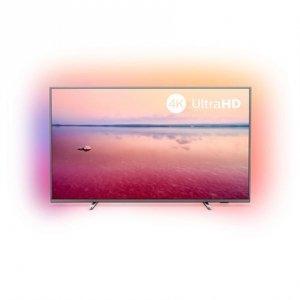 Philips 65PUS6754/12 65 (165 cm), Smart TV, Saphi, 4K UHD LED, 3840 x 2160, Wi-Fi, DVB-T/T2/T2-HD/C/S/S2, Silver