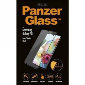 PanzerGlass Screen Protector, Samsung Galaxy A71, Glass, Black/Crystal clear