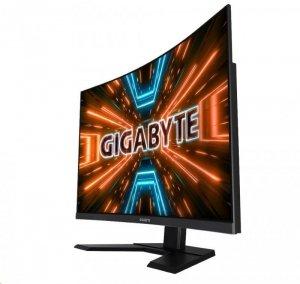 Gigabyte Curved Gaming Monitor G32QC A-EU 31.5 , VA, QHD, 2560 x 1440 pixels, 1 ms, 350 cd/m², Black, HDMI ports quantity 2