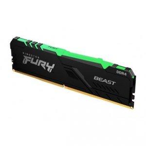 Kingston Fury Beast RGB 16 GB, DDR4, 3733 MHz, PC/server, Registered No, ECC No