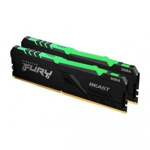 Kingston Fury Beast RGB 16 GB, DDR4, 3600 MHz, PC/server, Registered No, ECC No