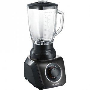 Blender Bosch MMB42G0B Black, 700 W, Glass, 2.3 L, Ice crushing,