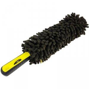 Szczotka do mycia felg z mikrofibry gięta dł. 36cm Dunlop