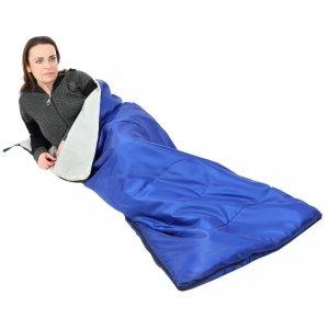 Śpiwór Hawaii 170X70cm niebieski Royokamp