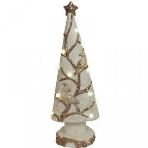 Choinka dekoracyjna z lampkami Led 67cm