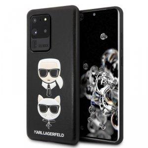 Karl Lagerfeld Embossed Case Karl & Choupette - Etui Samsung Galaxy S20 Ultra