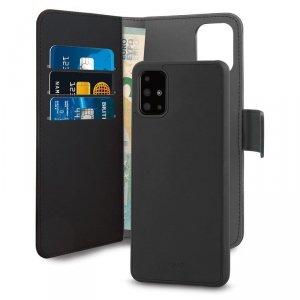 PURO Wallet Detachable - Etui 2w1 Samsung Galaxy A71 (czarny)