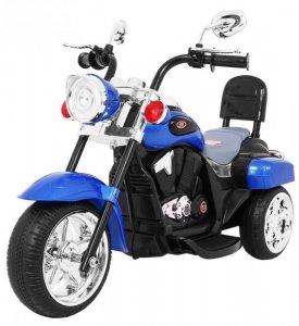 Motorek Chopper NightBike Niebieski
