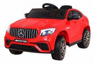 Pojazd Mercedes Benz GLC63S Czerwony