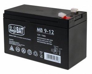 Części pojazdy akumulator 12V/9AH
