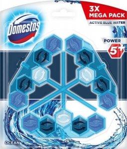 Domestos Power 5+ Niebieska Woda Kostka WC Ocean 3x53g