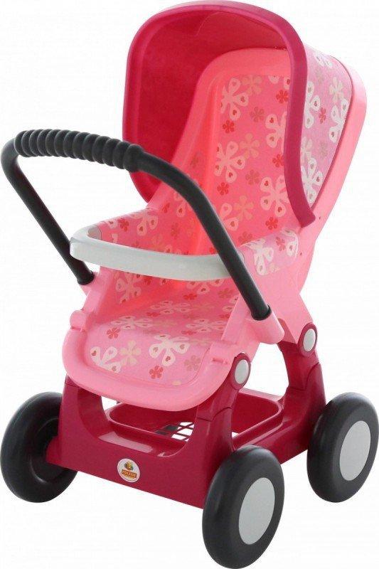 Wózek dla lalek Nr 2 spacerówka 4-kołowa