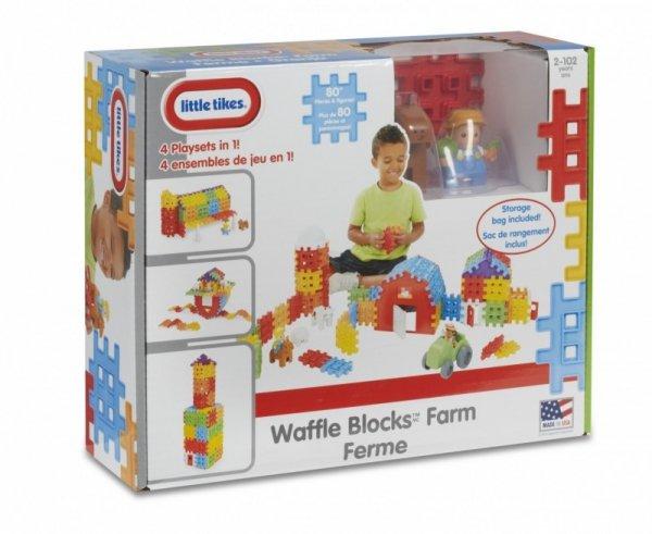 Klocki WAFFLE BLOCKS Gospodarstwo