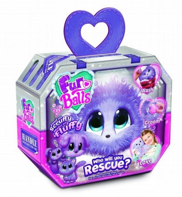 Tm Toys Maskotka Fur Balls Lilac