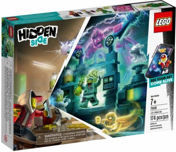 LEGO Polska Klocki Hidden Side Laboratorium duchów J.B.
