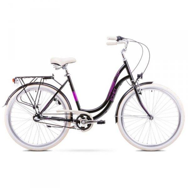 """Rower Romet Angel 28"""" 3 Czarno-Różowy 17 M 1928197"""