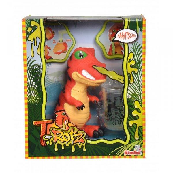 Simba T-Rotz zakatarzony dinozaur dino z glutami w nosie SLIME
