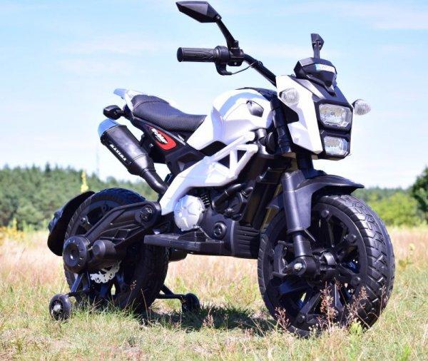 MEGA MOTOR CROSS  STRONG 2 EXCLUSIVE, AMORTYZATOR, GAZ W MANETCE, HAMULEC/DLS01
