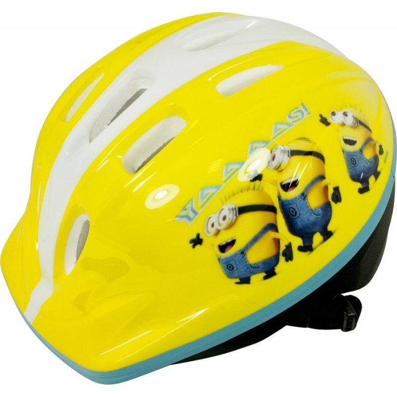 Kask Dziecięcy Na Rower Hulajnogę Minionki Yaaaas żółty Kaski