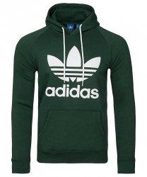 Adidas Originals zielona bluza męska Orig 3foil Hood BR4183