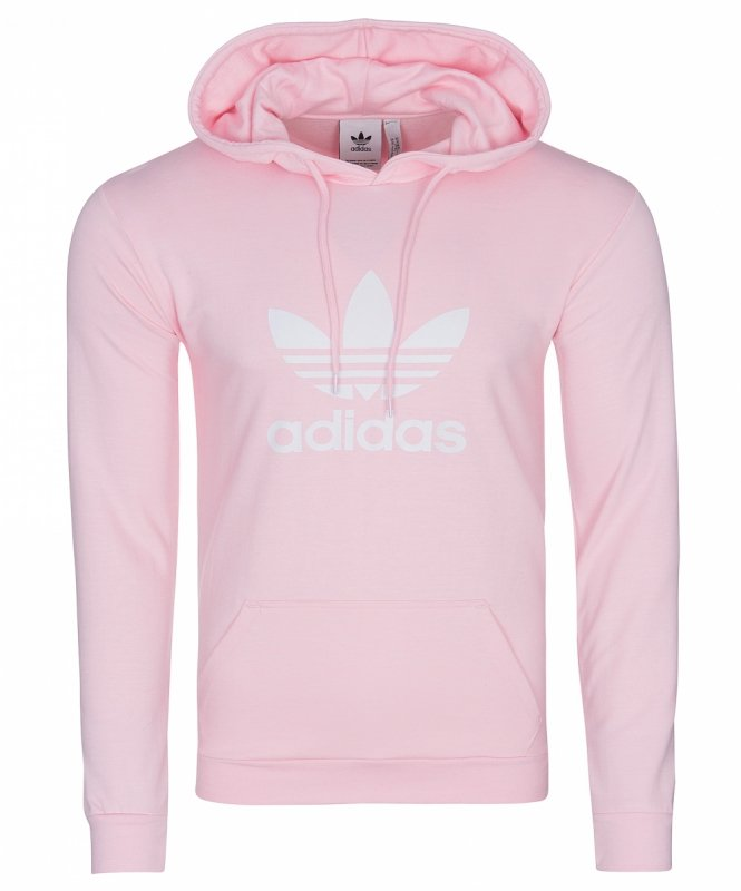 różowa bluza adidas z kapturem