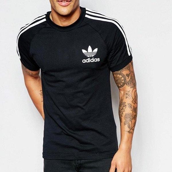 Adidas Originals czarna koszulka t shirt męski California Tee AJ8834