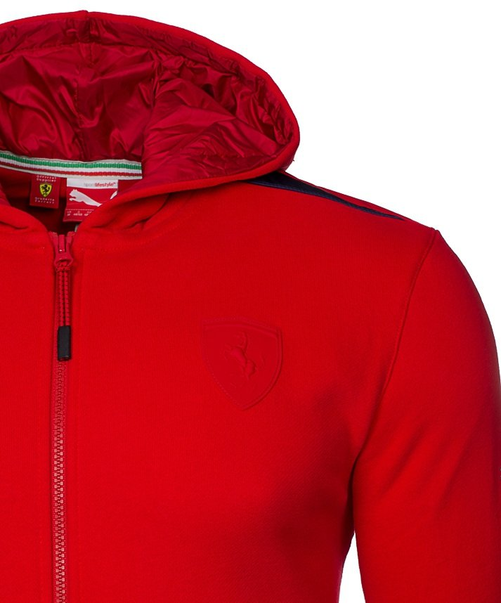 Puma Ferrari bluza męska Hooded Sweat Jacket 567084 02