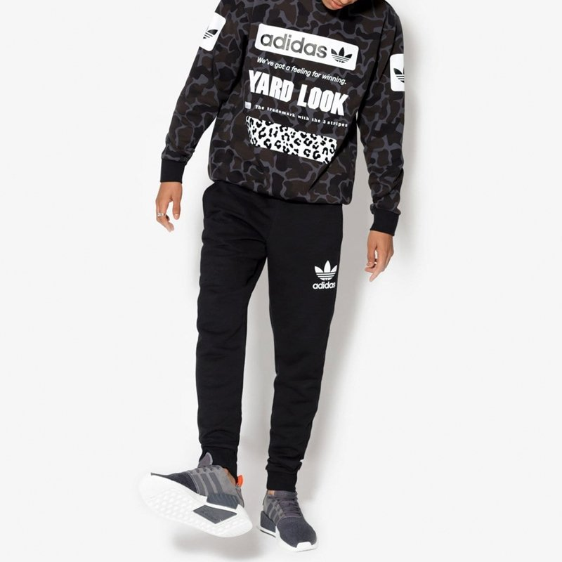 informacje o wersji na najlepszy dostawca o rozsądnej cenie Adidas Originals spodnie dresowe męskie Clfn ft pants BR2147