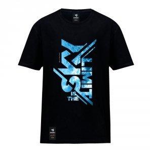 Koszulka Sky Is The Limit Czarna/Biała
