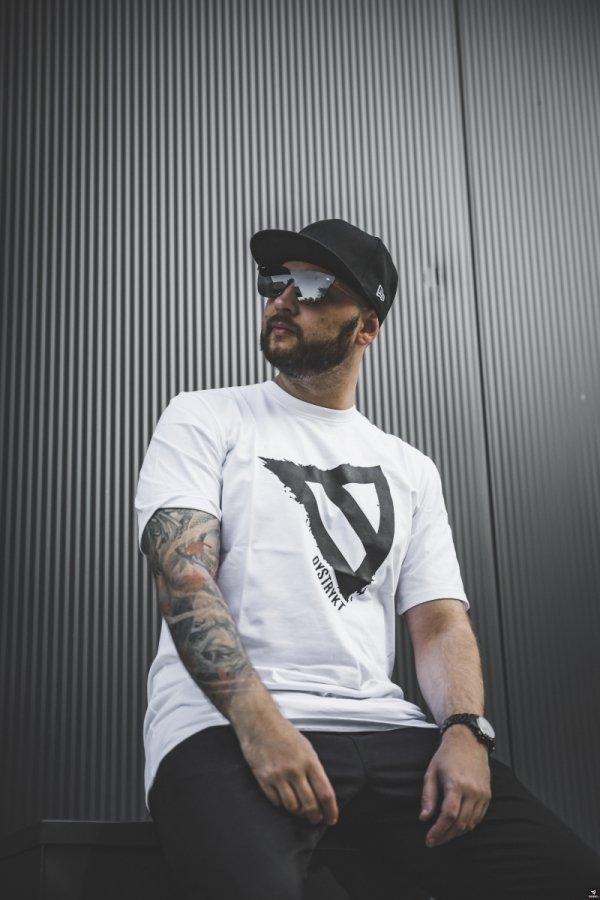 Koszulka DYSTRYKT  Biała