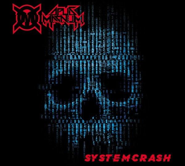 "CD Opus Magnum ""System Crash"" + ""Rok Zero"" + koszulka ""OM""  Czarna/Biała"