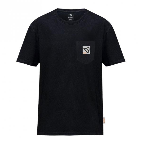 Koszulka Dystrykt Pocket  Czarna