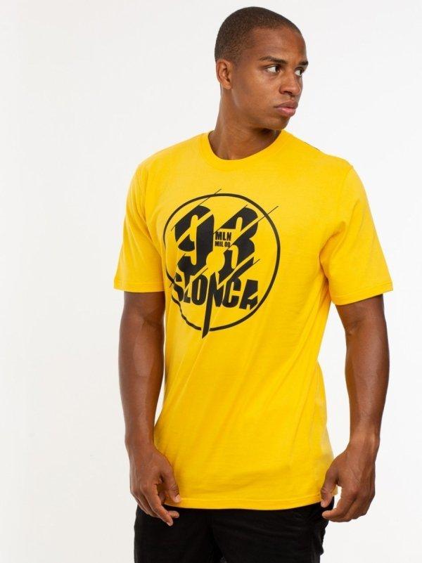 "Koszulka ""93 Mln Mil Od Słońca""  Żółta"