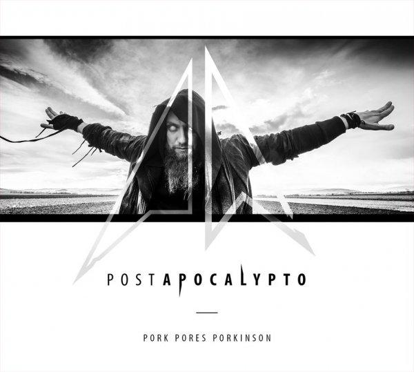 """CD Pork Pores Porkinson """"Postapocalypto"""" + Koszulka PA  Czarna/Biała"""