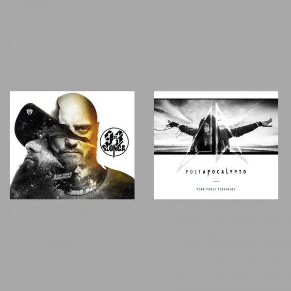 """CD Pork Pores Porkinson """"93 Mln Mil Od Słońca"""" + """"Postapocalypto"""" (2cd)"""