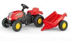 Rolly Toys Traktor na Pedały Kid z Przyczepą 2-5l