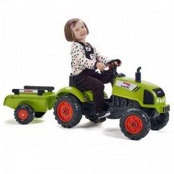 FALK Traktor CLAAS ARION z Przyczepą