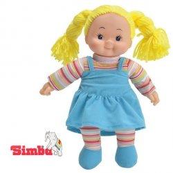 SIMBA Lalka Pyzatka w Sukience  Niebieskiej